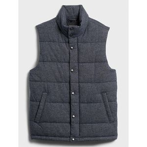 Banana Republic Quilted Heather Vest
